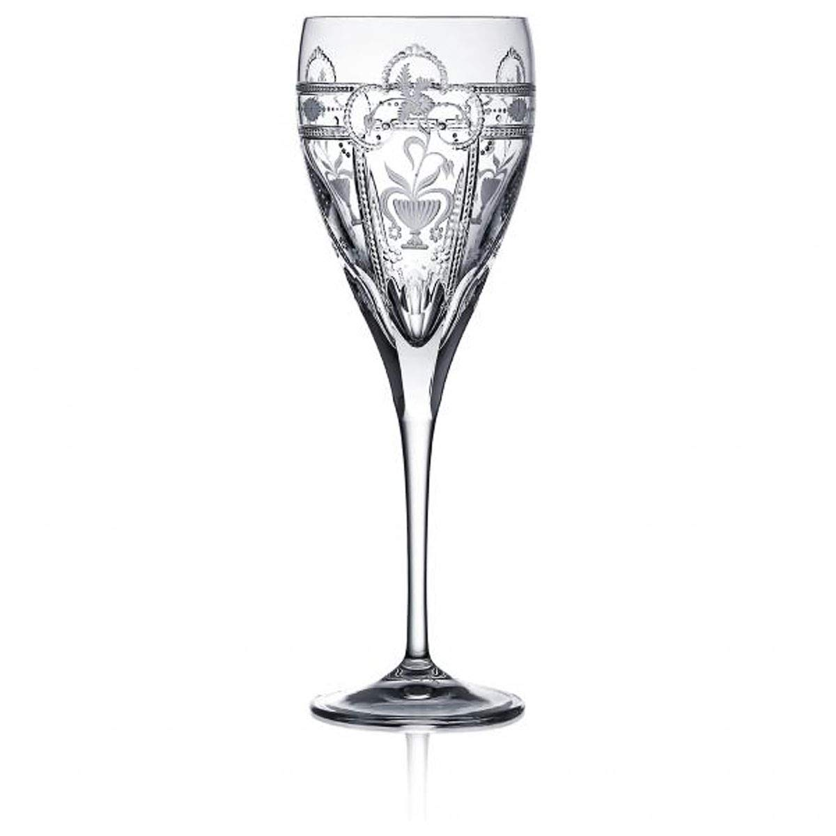 Varga Art Crystal Water Clear Glass Imperial Collection by Varga Art Crystal