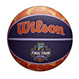 Wilson Sporting Goods NCAA Women's Final Four Rubber Basketball, Multicolor