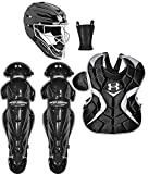 Under Armour PTH Victory Catching Kit (12-16) Black/Silver Size Senior Size