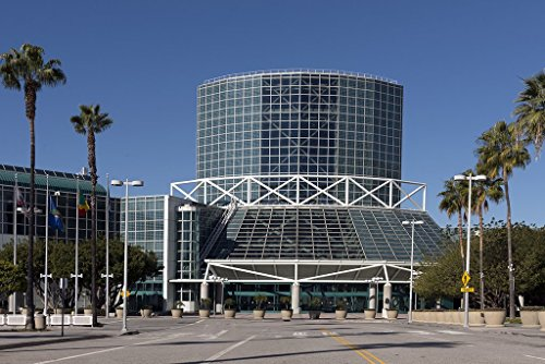 historic pictoric Photograph | The Los Angeles Convention Center Annex in downtown Los Angeles, California| Fine Art Photo Reporduction 12in x (Glass Ingo Collection)