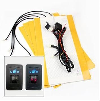 Electric Heated Car Seat Heater Pads Kit: Amazon.co.uk: Car & Motorbike
