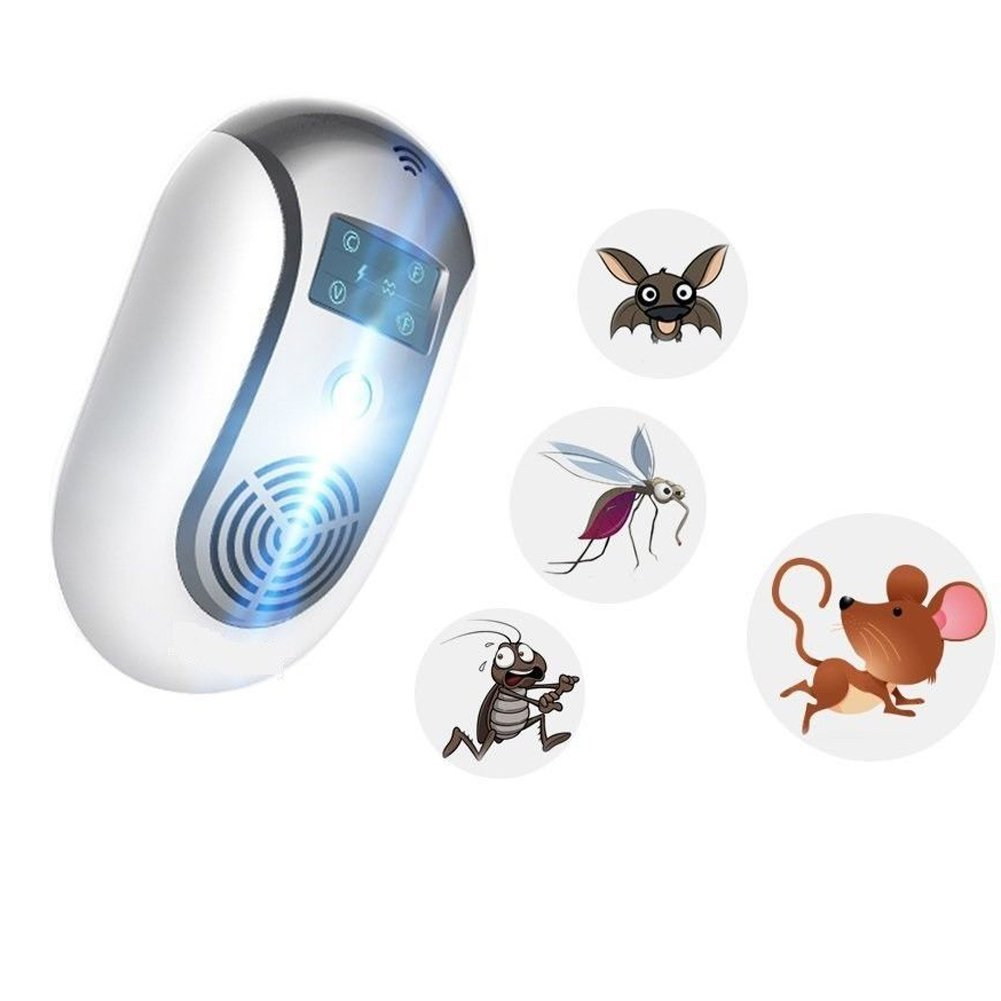 ZooArts Electronic Insect Mosquito Killer Eliminates Most Flying Pests Perfect for Indoor Outdoor Home Traveling