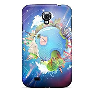 Case Cover Abstract 3d/ Fashionable Case For Galaxy S4