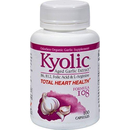 Kyolic #108 Gar Ext B6B12 Folic 100 Cap by Kyolic