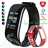 Best Fitness Monitors - Fitness Tracker, Color Screen Activity Tracker Watch Review