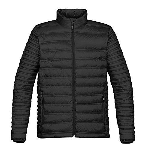 (Stormtech Mens Basecamp Thermal Quilted Jacket (M) (Black))