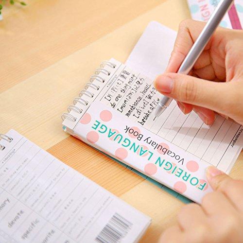 6aac380373df Katoot@ 4Pcs Panda wordbook Kawaii animal vocabulary book Mini coil  notebook Korean stationery office school supplies canetas Papelaria