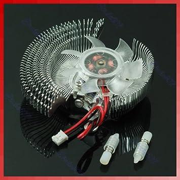 Cutebility Ventilador de refrigeración para Tarjeta gráfica ...