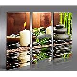 Zen stones 1 quadro su tela pronto da appendere - Quadri da appendere in bagno ...
