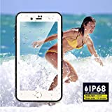 Waterproof Case for IPhone 7 & 8 Plus, Besinpo Underwater Full Body Protective Cases for IPhone 7P / 8P 5.5 Inch(white)