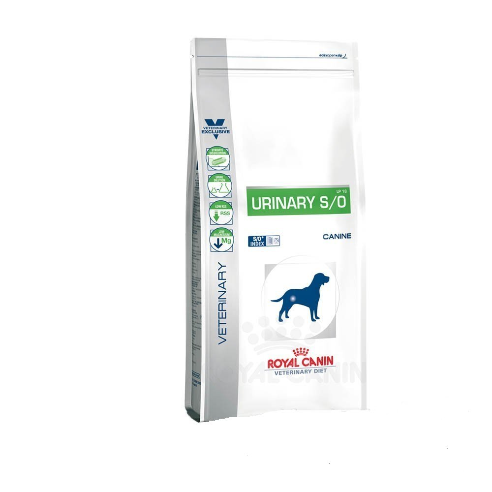 Royal Canin Urinary S/O Hund Trockenfutter 2 x14kg