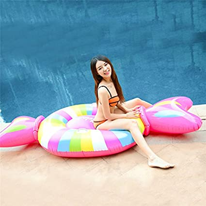 Amazon.com: Inflatable Candy Pool Float for Summer Party Swimming Beach Holiday,Large Outdoor Swimming Inflatable Pool Floatie Raft Lounge for Adults ...