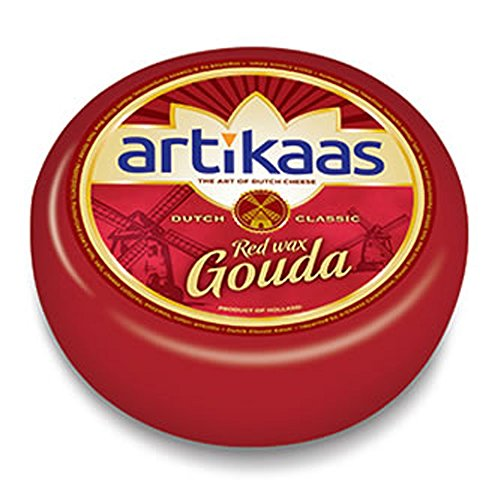Holland Gouda Cheese Wheel - Red Wax - Approx. - Gouda Holland