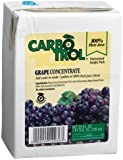Carbotrol 100% Grape Blend Juice Concentrate, 25-Ounce Aseptic Containesr (Pack of 12)