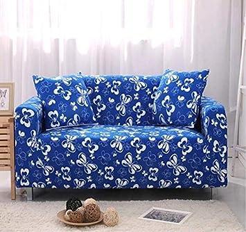 Amazon.com: Fiesta - Funda de sofá elástica para sofá de 4 ...