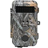 DigitNow! 16MP 1080 HD Waterproof Trail &Surveillance Digital Camera with Infrared Night Version up to 65ft in 2.4''LCD Screen &40pcs IR LEDs Wildlife Hunting &Scouting Camera