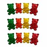 (12) Gummy Bear Stress Balls for Kids - Autism Aspergers ADHD ADD