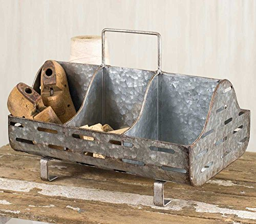 Rustic Metal Perforated Feed Trough