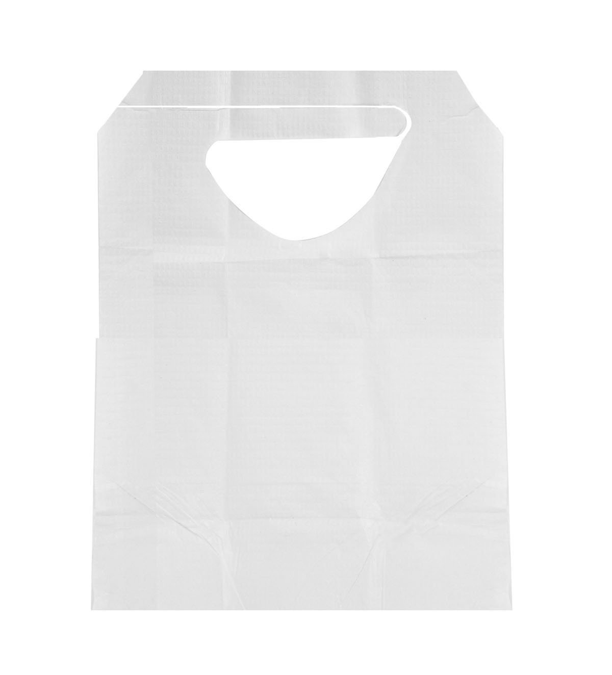 Medline NON24268 Disposable Slip-On Adult Bibs with Ties, 16'' x 33'' (Pack of 300)