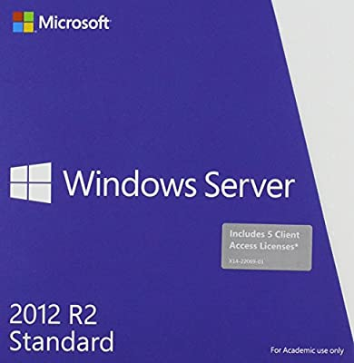 Microsoft P73-05970 64-Bit Windows Server 2012 R.2 Standard Software English Academic Edition