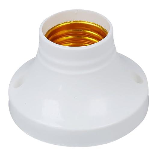 Bases con casquillo para bombilla (10 unidades, E27, 250 V, 6 A