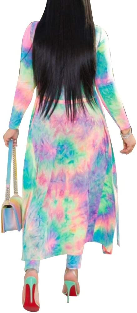 Pikulla Jumpsuit Womens Spiral Tie Dye Tie Dye Casual Jumpsuit Rompers Knot Bib Long Pants One Size