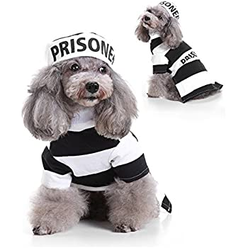 Amazon.com : Midlee Police Man Dog Costume (X-Large) : Pet ...
