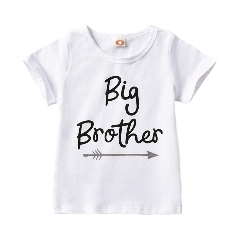 T-Shirt /& Body B/éb/é Baywell Little Sister /& Big Brother Fr/ère et s/œur Hommes