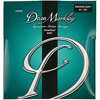 dean markley nickelsteel signature bass guitar strings 45 105 2604a medium light. Black Bedroom Furniture Sets. Home Design Ideas