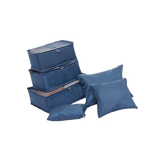 F Fityle 6pcs / Set Bolsas De Almacenamiento De Nylon A ...
