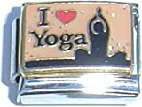 yoga italian charm - I Love Yoga Italian Charm