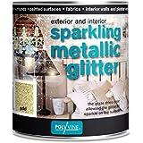 Polyvine Sparkling Metallic Glitter 500ml (Gold)