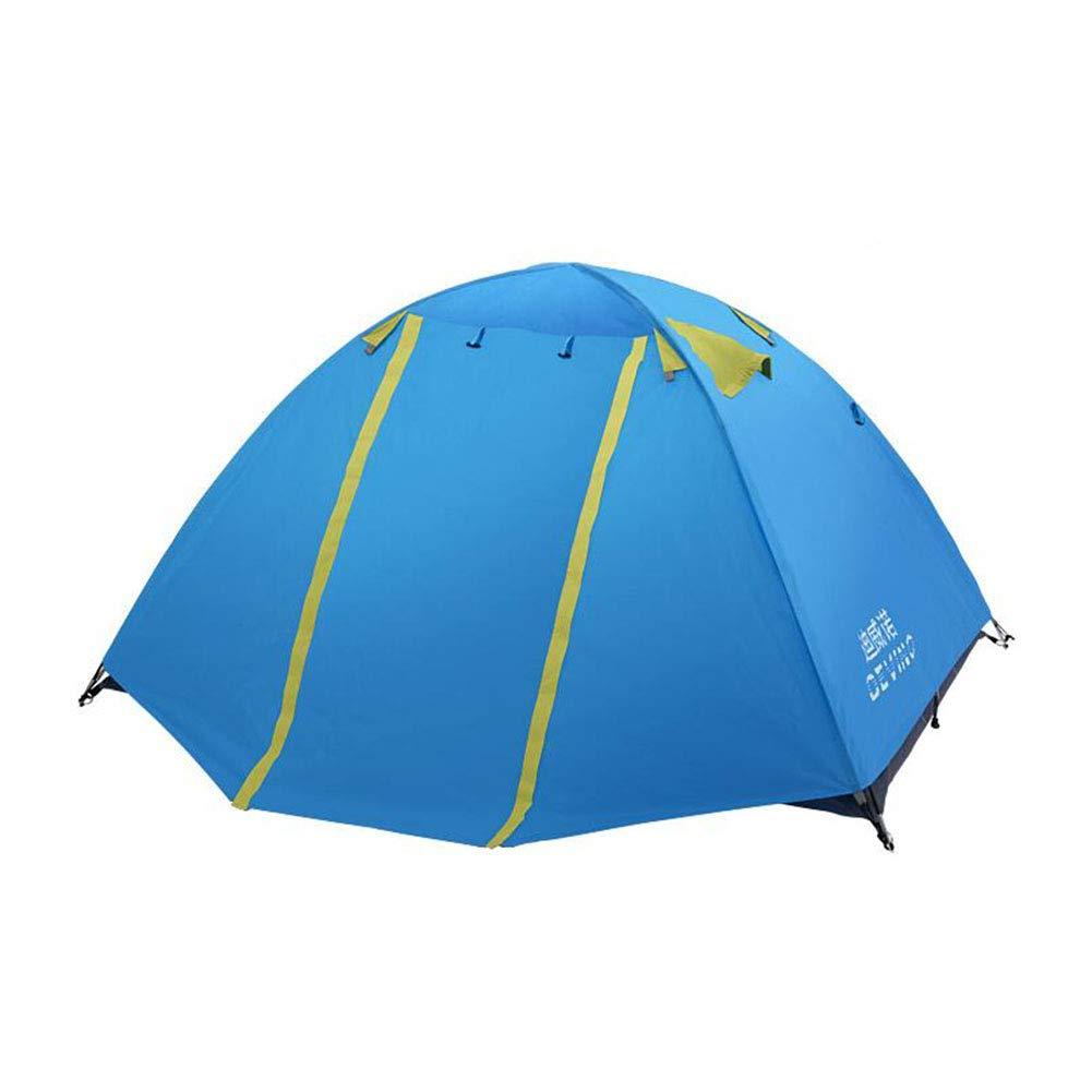 Dall zelte Zelt Strand Zelt Leichtgewicht Draussen UV-Schutz Camping Angeln Cabana (Farbe : Blau)