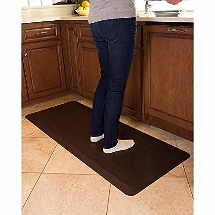 amazon com novaform anti fatigue comfort mat 24 in x 60 in rh amazon com novaform home anti-fatigue kitchen mat novaform anti-fatigue kitchen mat 20 x 42