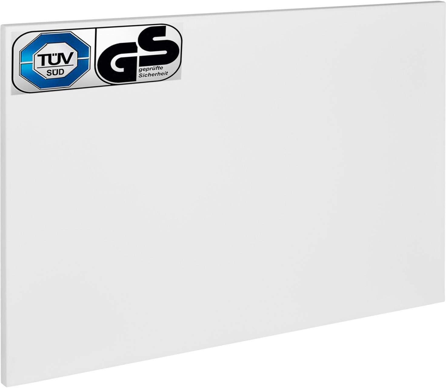 Calefacción por infrarrojos de 700 W, calefacción eléctrica de pared, calefacción de techo, radiador con certificado TÜV.