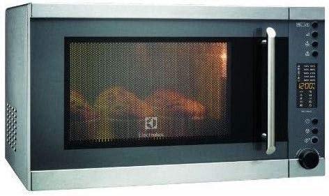 Electrolux EMS30400OX Encimera 28L 900W Negro, Acero inoxidable - Microondas (Encimera, 28 L, 900 W, Botones, Giratorio, Negro, Acero inoxidable, 1100 W)