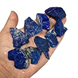 "164.5g, 9pc lot, 1""-2"" High Small Grade Rough LAPIS LAZULI Crystal Minerals Specimens Raw Natural Crystals for Cabbing, Cutting, Lapidary, Tumbling,Polishing @Afghanistan RL219"
