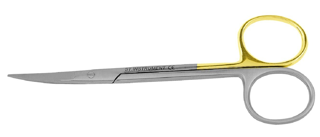 Suture Scissor Curved Super Cut Sharpness 11 cm Code: C-0622