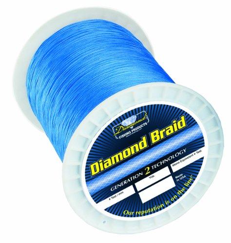 (Momoi Diamond Braid 80-Pound 300-Yard Solid Line, Brilliant Blue)
