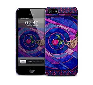 beauty and the beast rose Case For Iphone 5/5S Cover protective case
