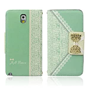Lowpricenice Novelty Fresh Cute Flip Wallet Leather Case Cover for Samsung Galaxy Note 3 N9000