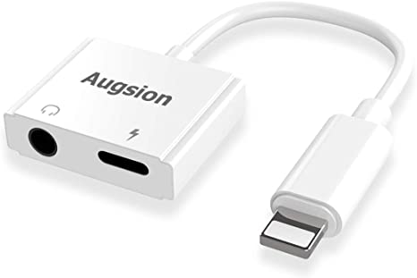 iphone charger and aux adapter