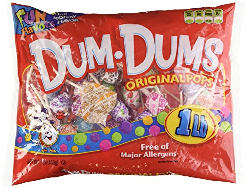 Dum Dum Pops 1LB Bag]()