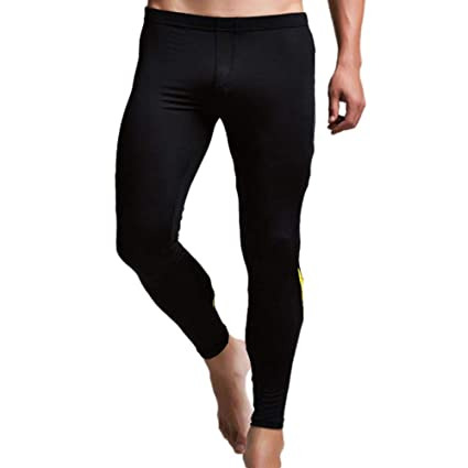 224998fe07dd Long Thermal Underwear Men, Alonea Men's Cotton Breathable Sports Leggings  Thermal Long Johns Underwear Base