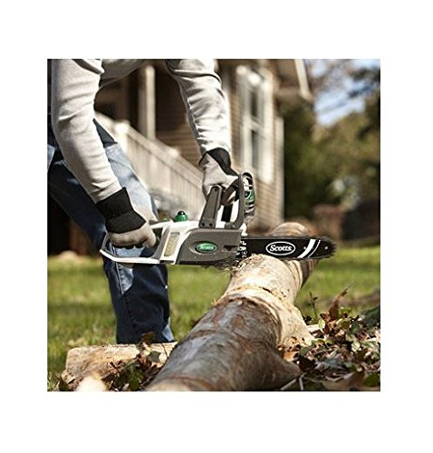 Scotts SYNC 20-Volt Lithium-ion 10'' Cordless Chainsaw by Scotts