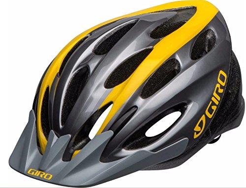 Adult Bike Helmet Giro Indicator (Titanium Yellow)
