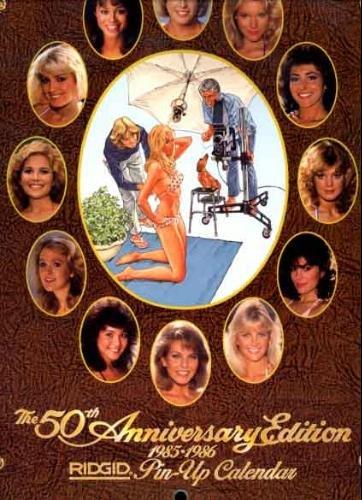 Ridgid (Ridge Tool) Pin-Up Girl Calendar 1986