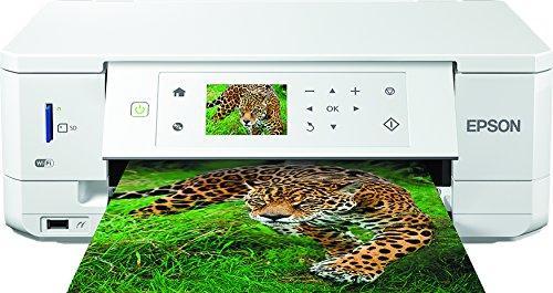 Epson Expression Premium XP-645 3-in-1 Tintenstrahl-Multifunktionsgerät (Drucker, Scanner, Kopierer, WiFi, Duplex, CD/DVD Druck, Einzelpatronen) schwarz