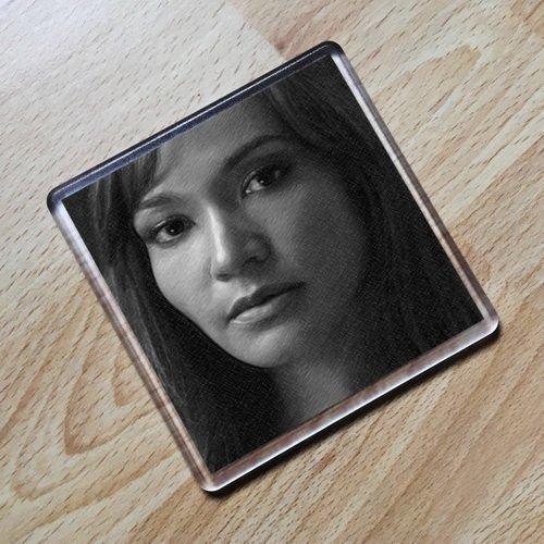 RACHEL LUTTRELL - Original Art Coaster #js001 ()