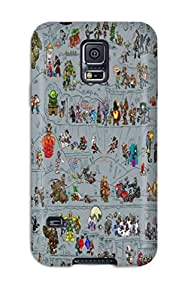 Ultra Slim Fit Hard DanRobertse Case Cover Specially Made For Galaxy S5- Final Fantasy Vii Star Wars